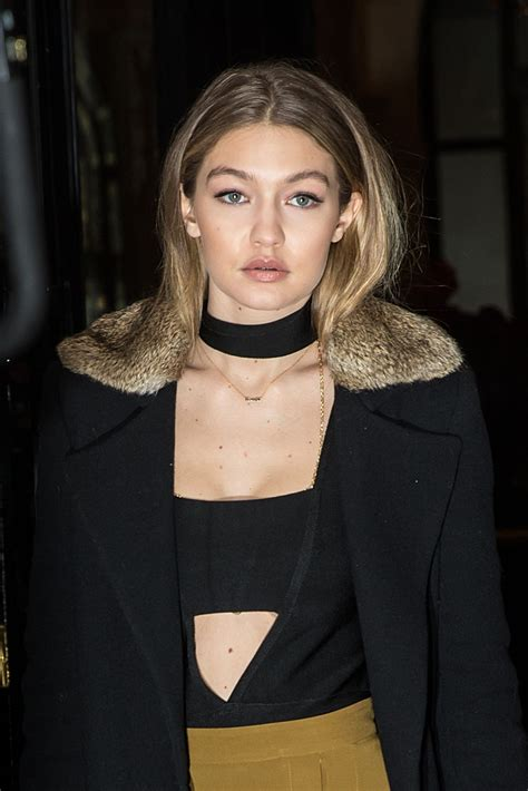 gigi hadid gigi hadid night out in paris 01 22 2016 hawtcelebs