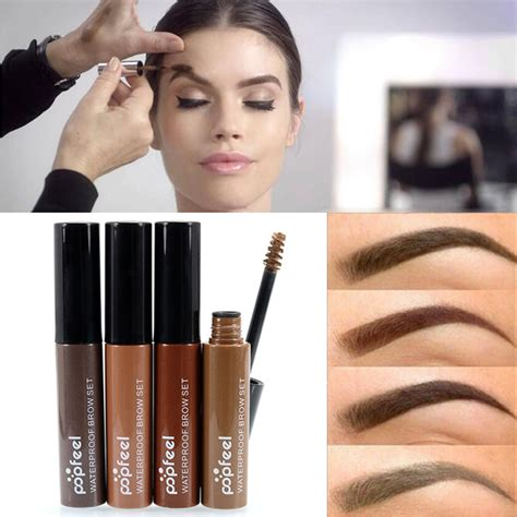 Promo New Xixiu Brow 4 Warna Mascara Alis Xi Xiu Color My Brows new brand makeup eye brow gel coffee black brown paint eyebrows gel waterproof eyebrow tint