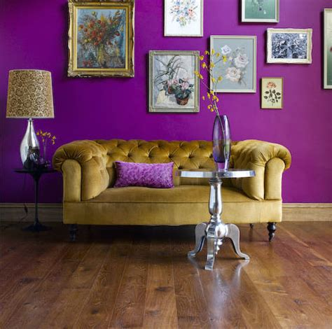 nature and show us how to design with purple
