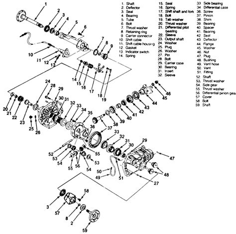 1989 chevy front axle diagram wiring diagram