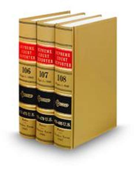 supreme court reporter supreme court reporter bound volume solutions