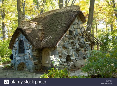 the cottage in the faerie cottage in the enchanted woods in the
