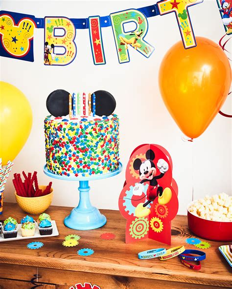 birthday themes mickey mouse a colorful mickey mouse birthday party disney family