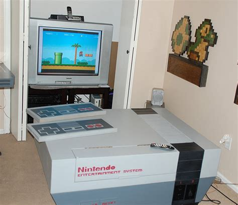 room n64 nes system living room furniture we re gonna need a bigger tv technabob