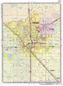 fresno map map travel holidaymapq