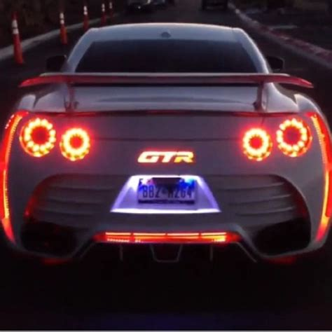 Led Lovers Check Out This Nissan Gt R Car Tuning Led Lighting For Cars