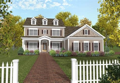 3 Story Colonial House Plans by Colonial House Plan Alp 024j Chatham Design