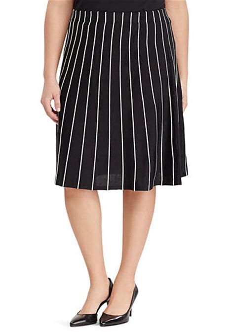 plus size skirts below the knee belk