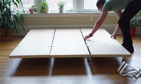 Platform Bed Base Diy Floyd Diy Platform Bed Frame Indulgd