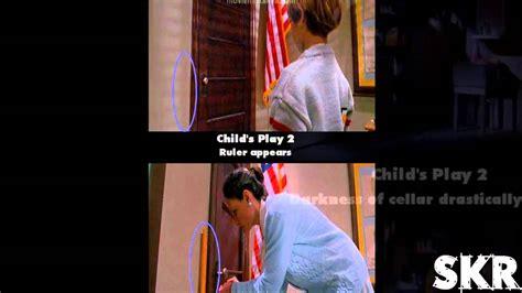 chucky movie mistakes movie mistakes child s play 2 1990 youtube