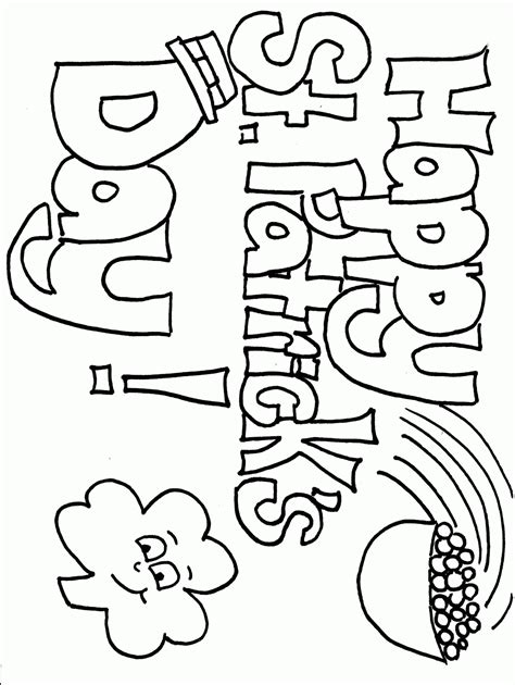 Top 10 St Patricks Day Coloring Pages For Kids Day Color Pages