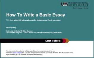 Guide To Writing A Basic Essay by Writing An Essay Tips For Student Success