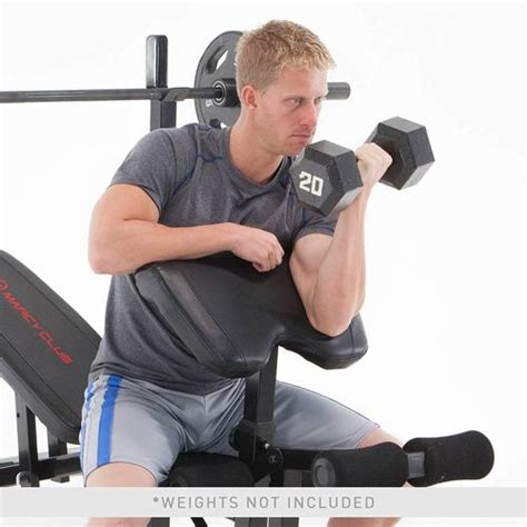 marcy club weight bench marcy club olympic weight bench mkb 733 quality strength