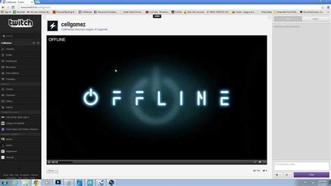 video player layout tutorial on how to add an offline banner into twitch tv