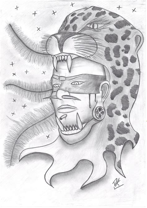 Aztec Warrior By Dansk1984 On Deviantart Aztec Warrior Sketches