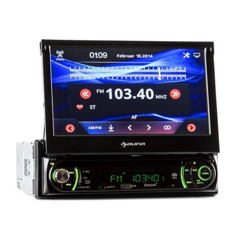 Auto Radios by Mvd 240 Autoradio Bluetooth Dvd Cd Usb Sd 7 Quot Mvd 240