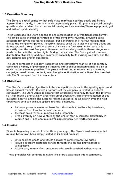 business plan summary template 5 executive summary templates excel pdf formats