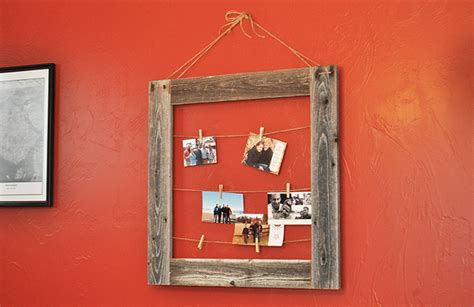 learn how to build a how to make a barnwood picture frame