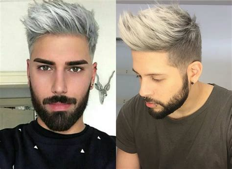 trend gray platinum hair men latest hair trend grey hair amp pearl white for men amp