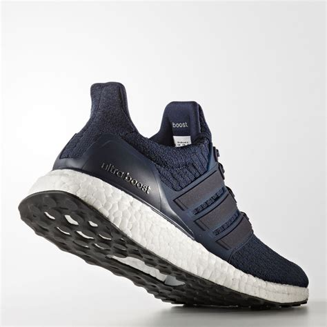 adidas boost men adidas ultra boost mens blue sneakers running road sports