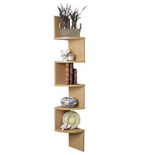 decornation corner wall shelf unit zigzag shape bavarian