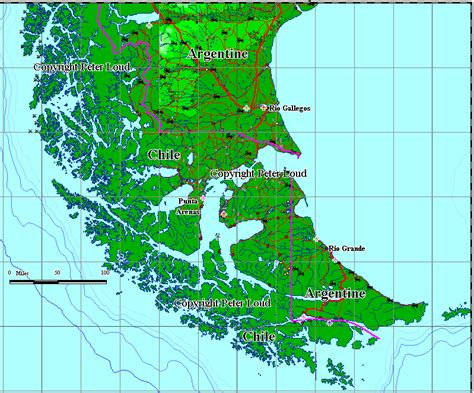 where is horn on the map maps of cape horn loud
