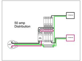 wiring diagram best sle 50 amp rv wiring diagram 50rvdistribution wire diagrams