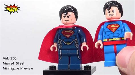 Lego Original Minifigure Superman Of Steel lego 2013 of steel superman minifigure review heroes 76002 76003 76009