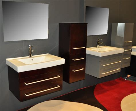 Modern Vanity Cabinets For Bathrooms Modern Bathroom Vanity Mist