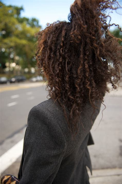 curly hairstyles on relaxed hair beauty from straight to curly where did u get that