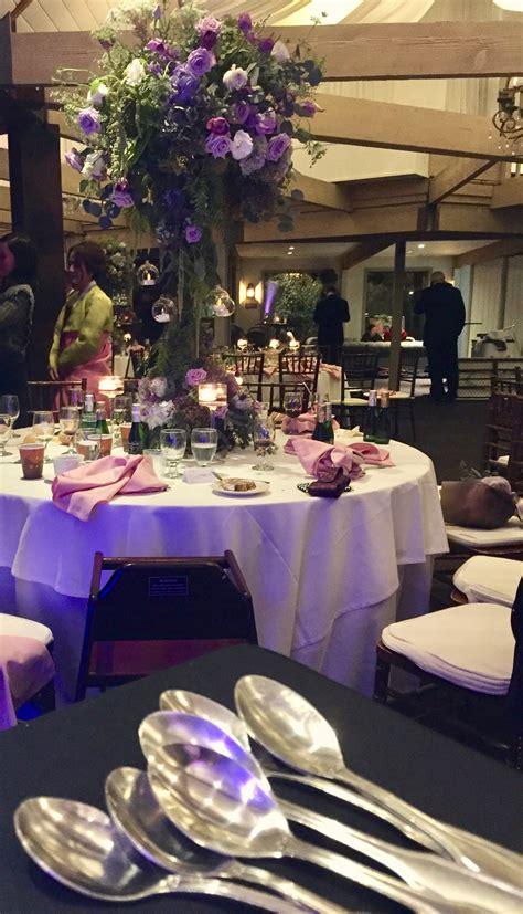 Centerpiece Giveaway Games - beautiful wedding calamigos ranch elegant music