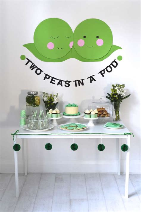 Two Peas In A Pod Baby Shower by Two Peas In A Pod Baby Shower Baby Shower Ideas Themes