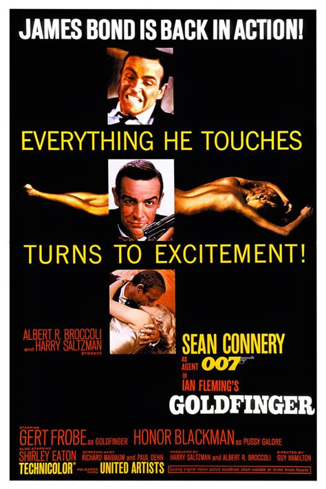 goldfinger james bond 007 goldfinger 1964 james bond in posters digital spy