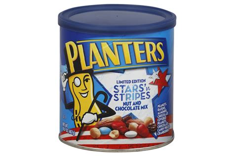 Planters Chocolate Covered Peanuts by Planters Limited Edition N Stripes Nut And