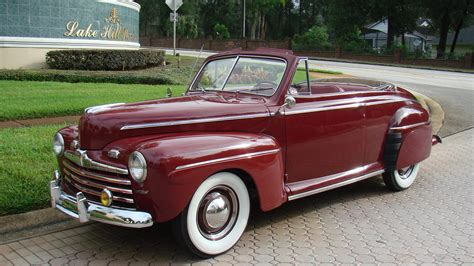 1946 ford deluxe convertible t115 kissimmee 2014