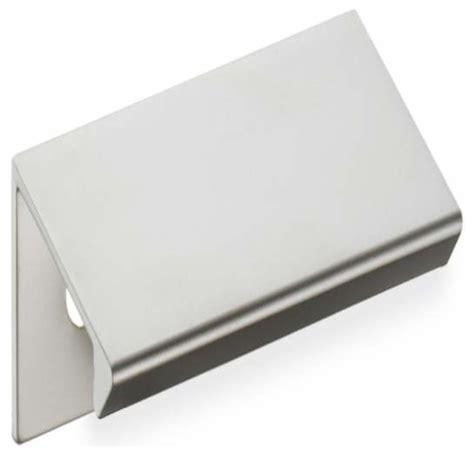 Cabinet Tab Pulls by Schwinn Hardware 1 1 4 Inch Ctc Tab Pull Satin Nickel
