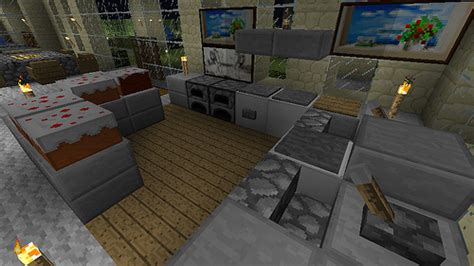minecraft furniture kitchen 26 awesome pictures minecraft house interior design