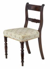 Regency Dining Chairs Mahogany Set Of 19th Century Regency Mahogany Dining Chairs For Sale At 1stdibs
