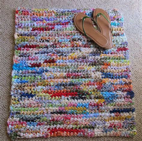 how to crochet a rag rug rag crochet is upcycling for hookers roving crafters
