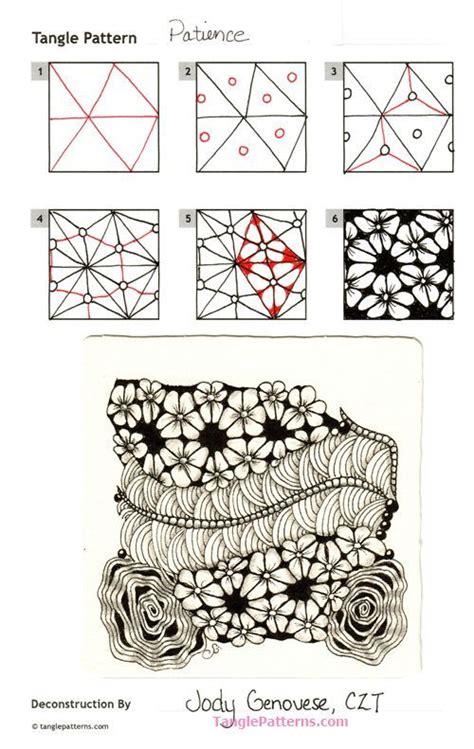 zentangle pattern dictionary best 25 tangle patterns ideas on pinterest zentangle