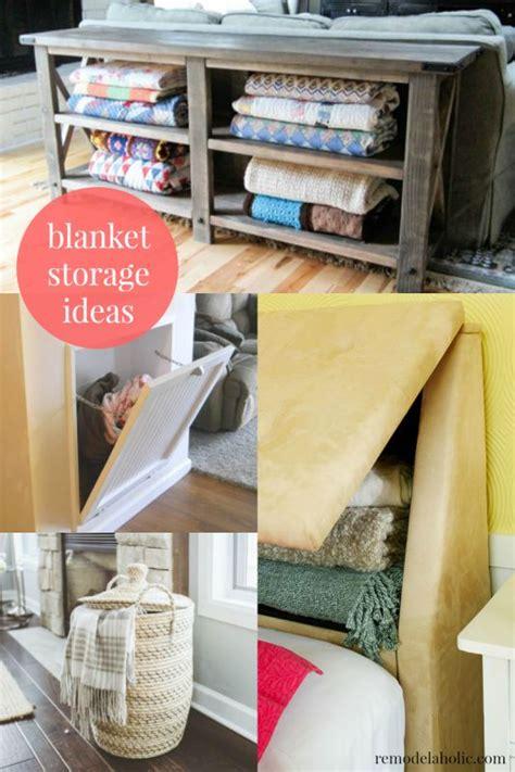 blanket storage ideas best 25 storing blankets ideas on pinterest blanket