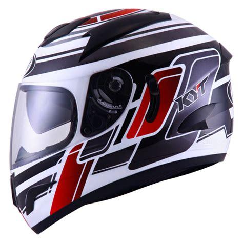 Helm Kyt Ukuran L jual helm kyt veron motif merah hitam