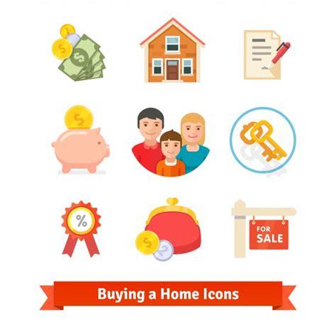 prestito acquisto casa immobiliare mutuo casa prestito icone di acquisto