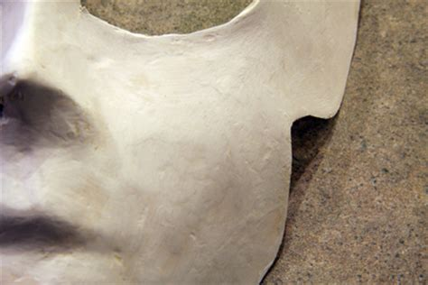 Paper Mask Techniques - surface smoothing technique for paper mache masks guest