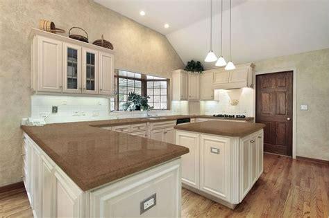 antique white kitchen cabinets with quartz countertops desert storm quartz renovation quartz and