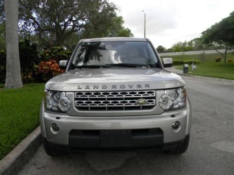 land rover lr4 interior sunroof sell used 2010 lr4 hse third row seats navigation
