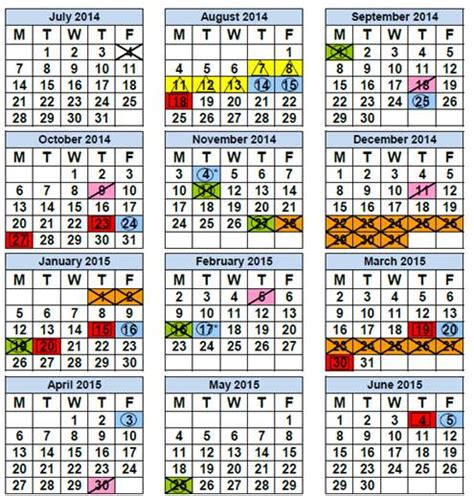 Broward County Schools Calendar 2015 16 South Florida 2014 2015 School Calendars Www Easy93