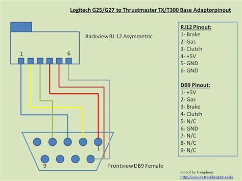 logitech thrustmaster adaptor