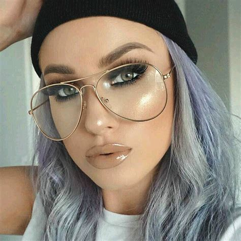 transparently trendy the clear glasses transparent gold clear glassestitanium alloy tr glasses