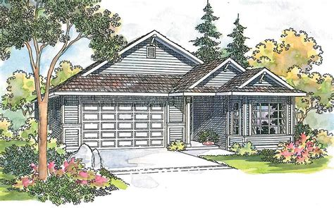 Charming House Plans by Charming Ranch For Small Lot 72056da Architectural